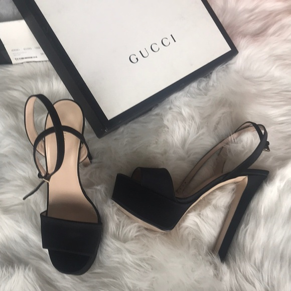 03043b71069 Authentic Gucci Leila Platforms NWT